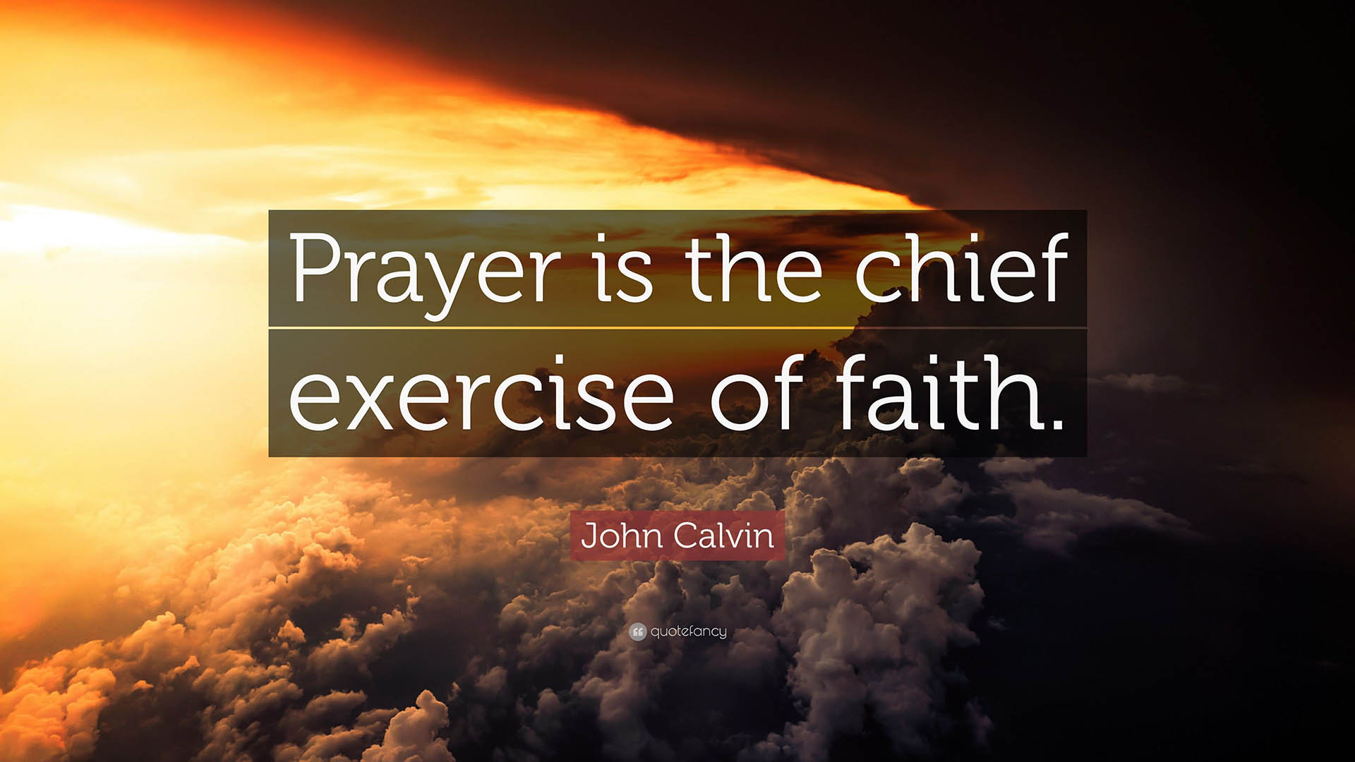 WE MUST ALL EXERCISE… BY FAITH
