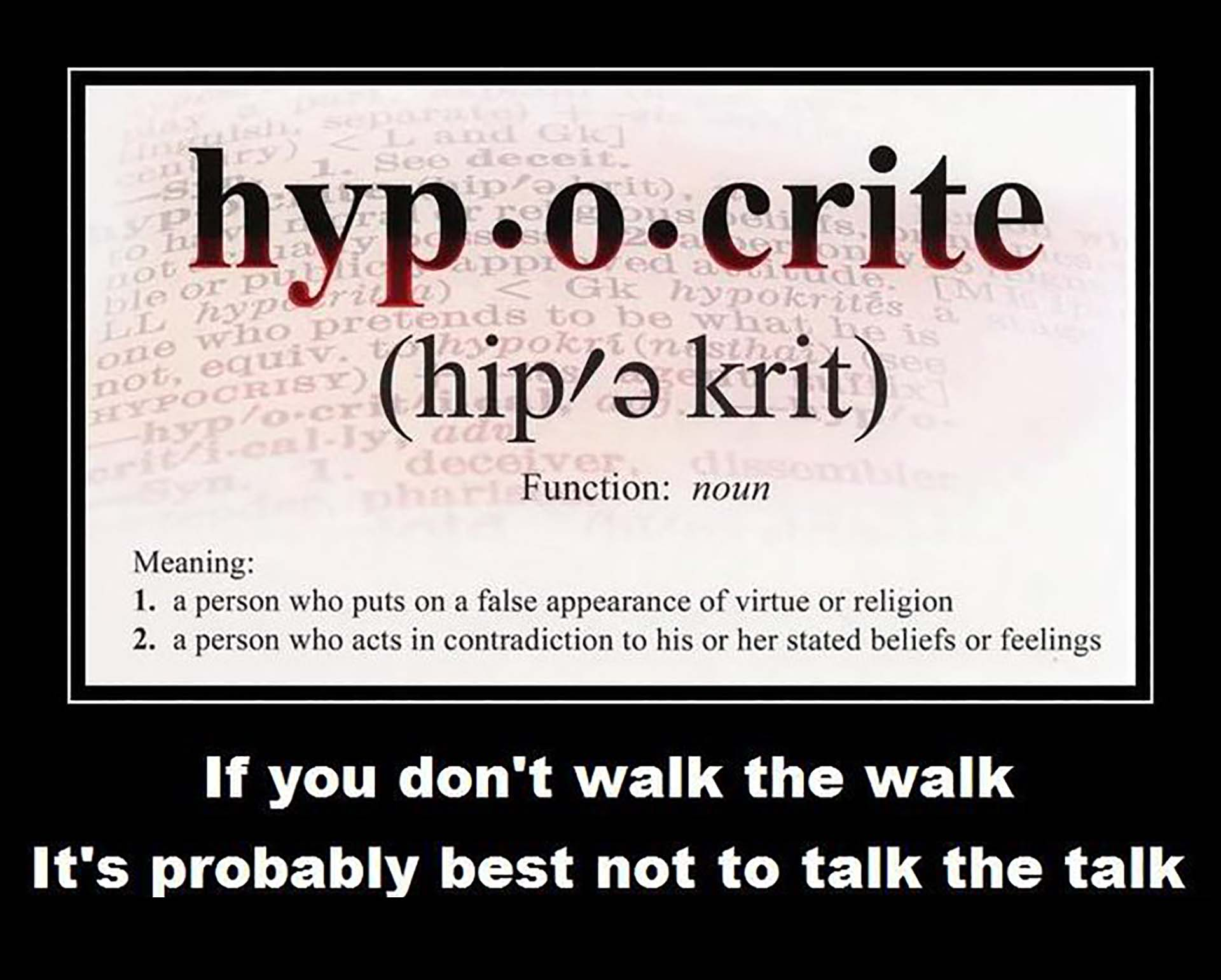 CHRISTIANS ACTING OUT – PART 2
